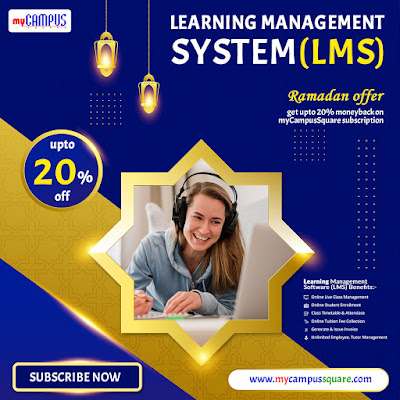 Ramadan Offer on myCampusSquare Learning Management System