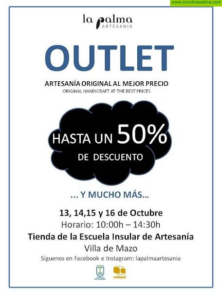 La Palma Artesanía celebra su VI 'outlet' y ofrece la oportunidad de adquirir los productos a través de las redes sociales