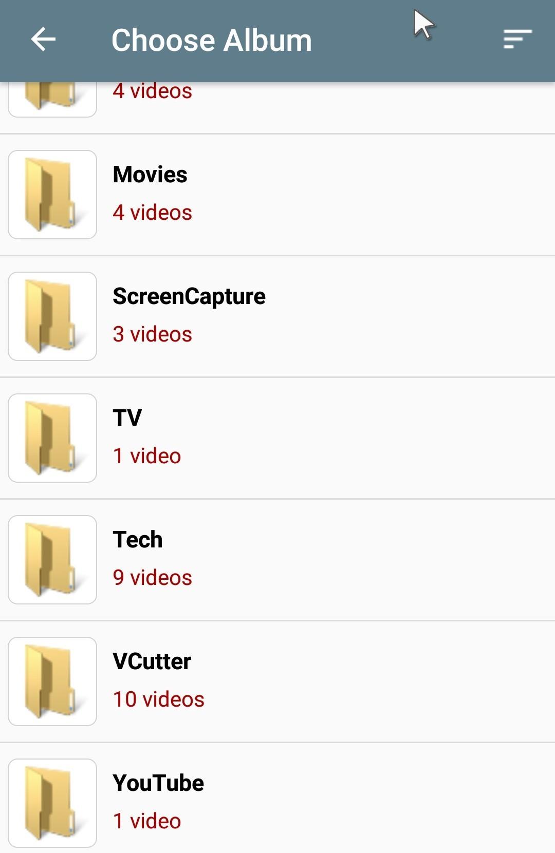video cutter find video