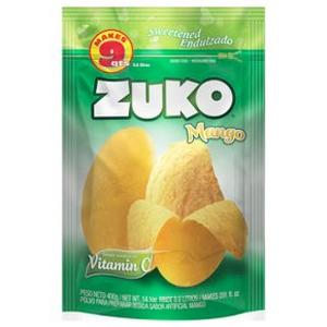 Bột Pha Nước Uống Hương Vị Xoài Zuko Mango 400g Hàng Xách Tay Từ Mỹ