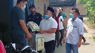 OK Faizal Djalil Blusukan Salurkan Bantuan Kepada Warga