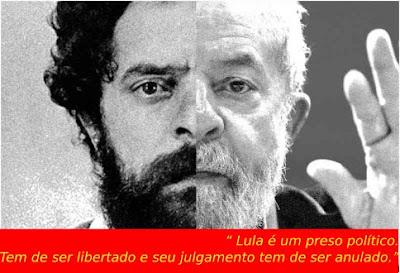 Lula preso político