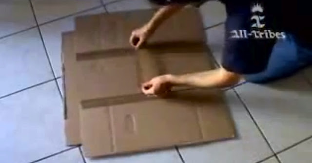 How to Make a Cardboard T-Shirt Folder