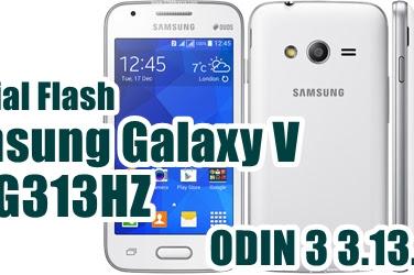 Tutorial Flash Samsung Galaxy V SM-G313HZ via Odin