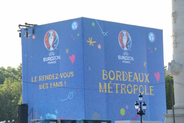 Bordeaux au temps de l'Euro