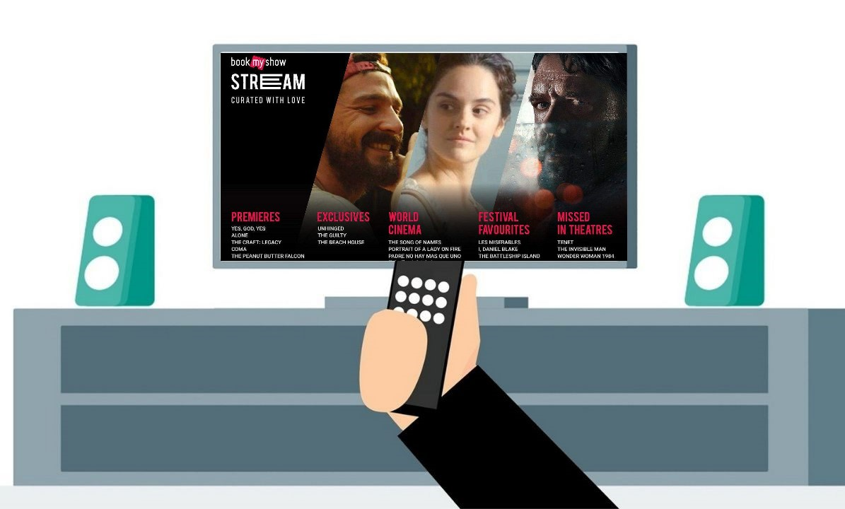 BookMyShow का Video On Demand Streaming Platform क्या है