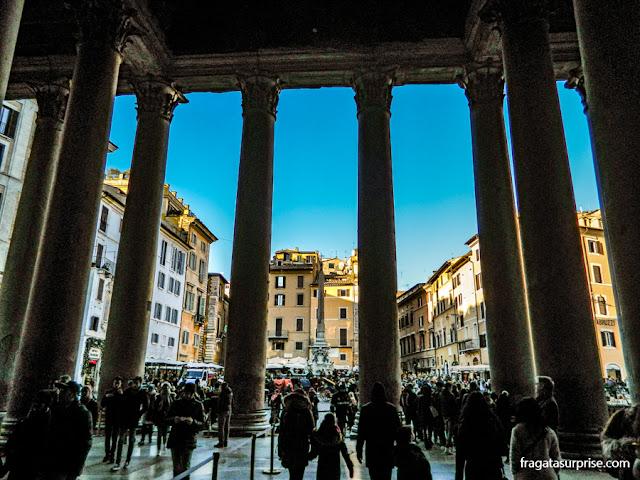 Pórtico do Pantheon, Roma