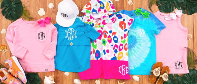 Marleylilly kids clothing and accessories flatlay