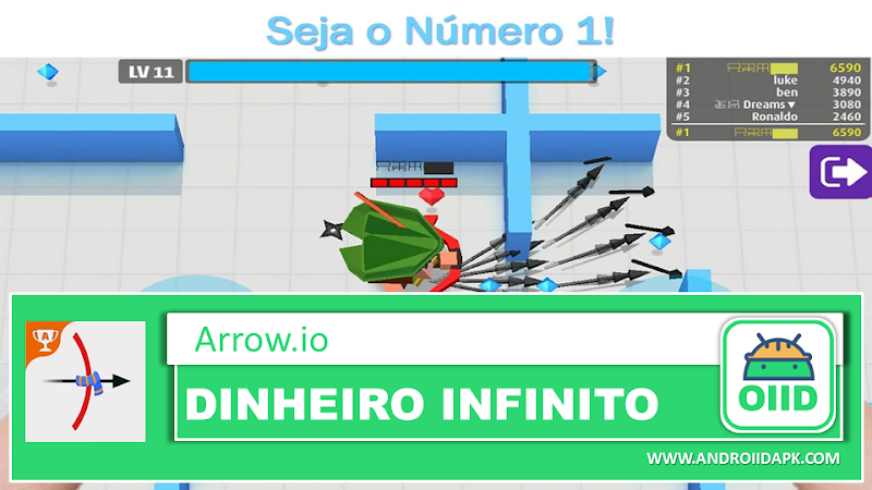 Arrow.io v1.9.1 Mod Apk (Unlocked)