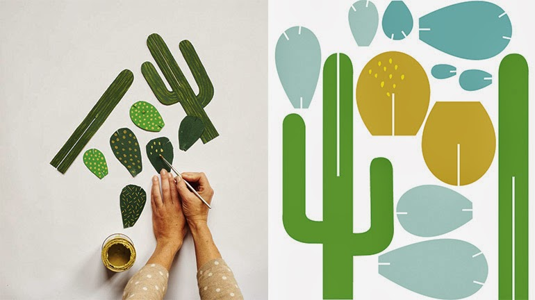honey and fizz tutorial tuesday cardboard cactus by beci orpin