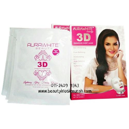 AuraWhite 3D Sheet Mask