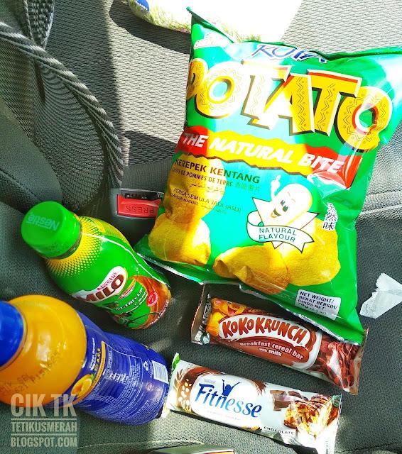Makan-makan dalam kereta