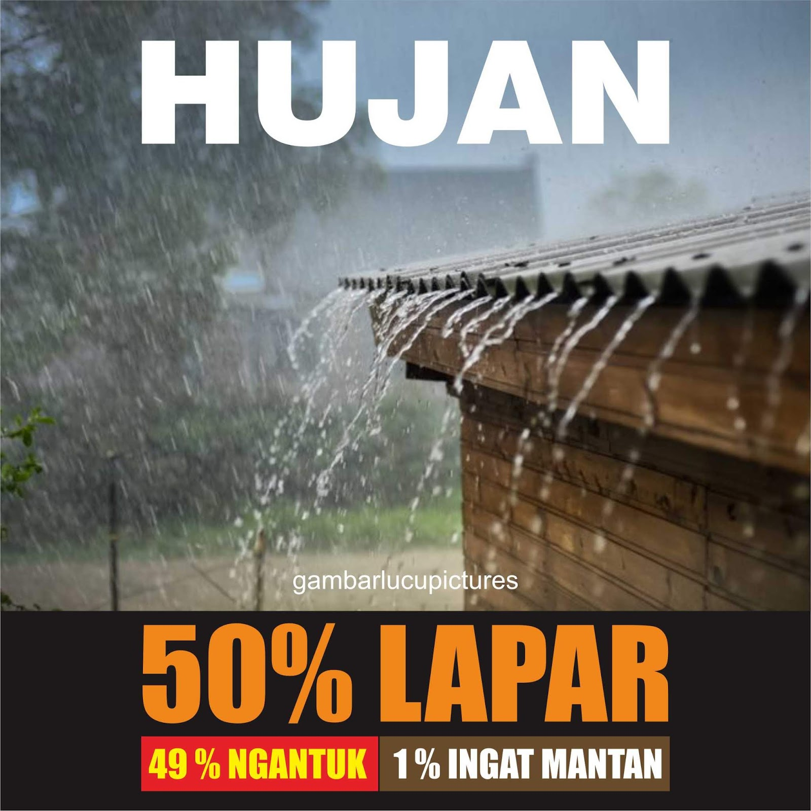 Gambar Lucu Sunda Usum Hujan