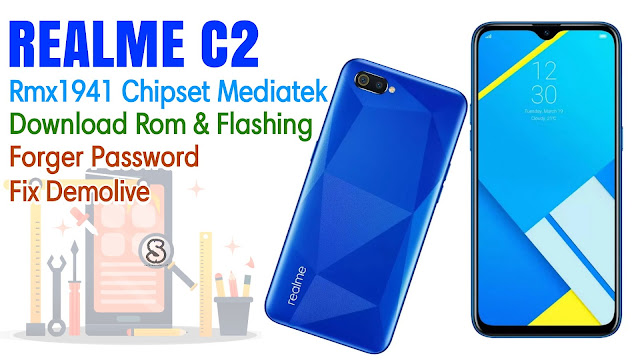 Download Rom Official / Flashing Oppo Realme C2 Rmx1941 Mediatek Lupa Password, Pola, Demo live
