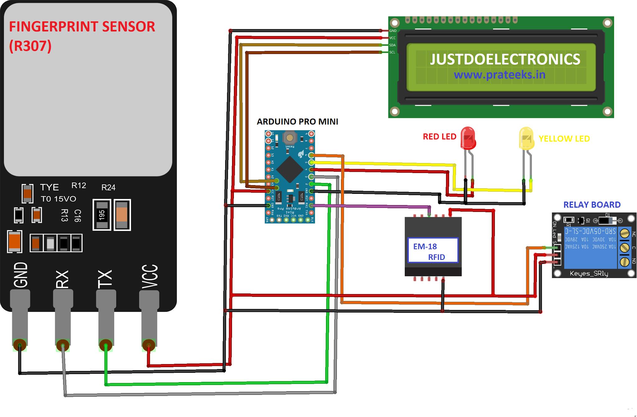 Fingerprint And Rfid Based Bike And Car Ignition System
