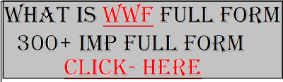 wwf full form
