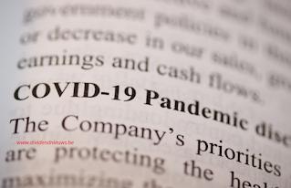 COVID pandemie grootste dalers en stijgers