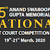 5th Anand Swaroop Gupta Memorial National Moot Court Competition 2020