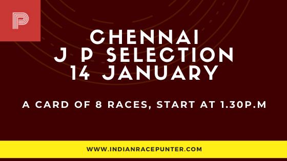 Chennai Jackpot Selections 14 January