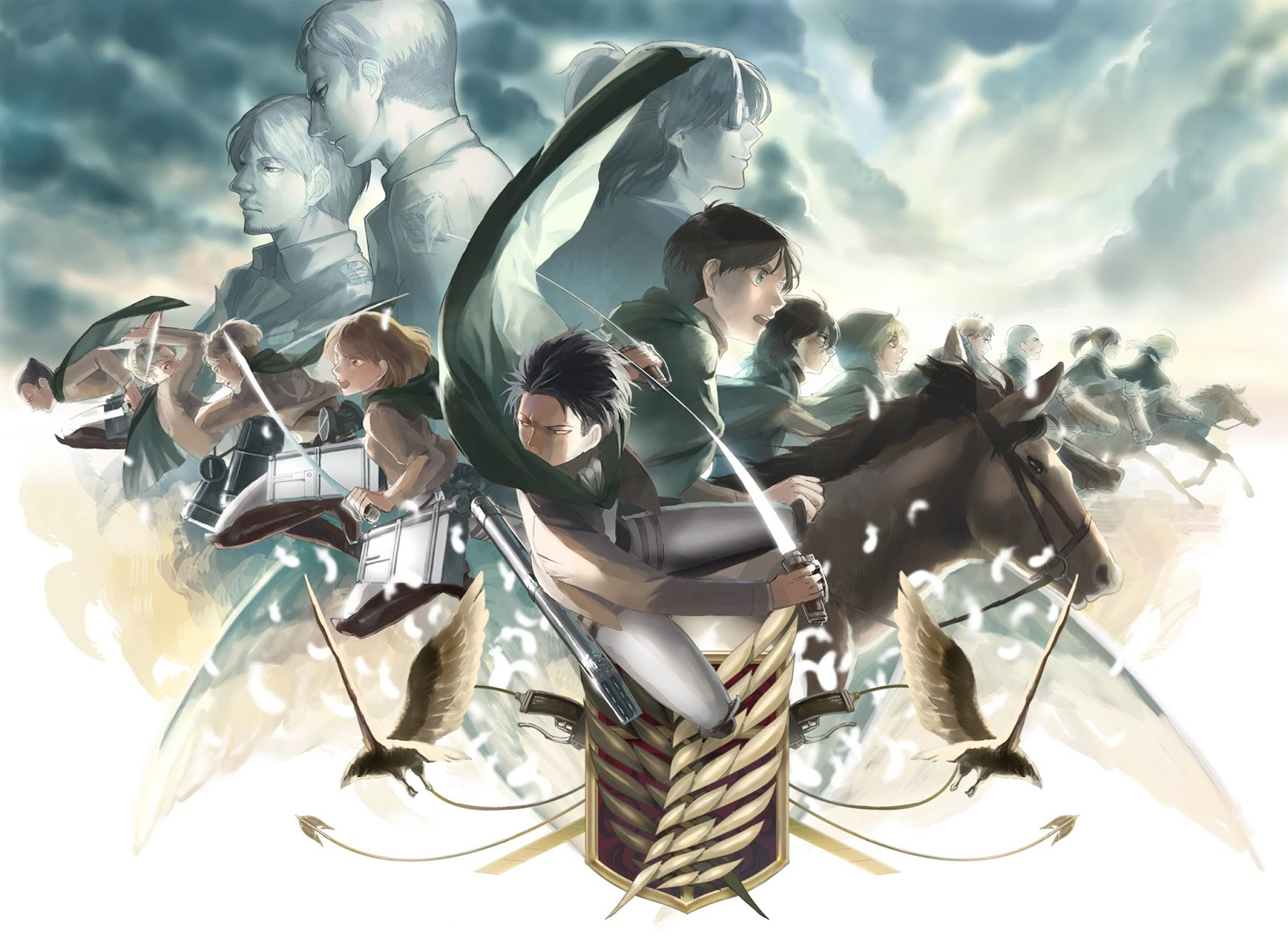 Scouting and Shingeki no kyojin on Pinterest