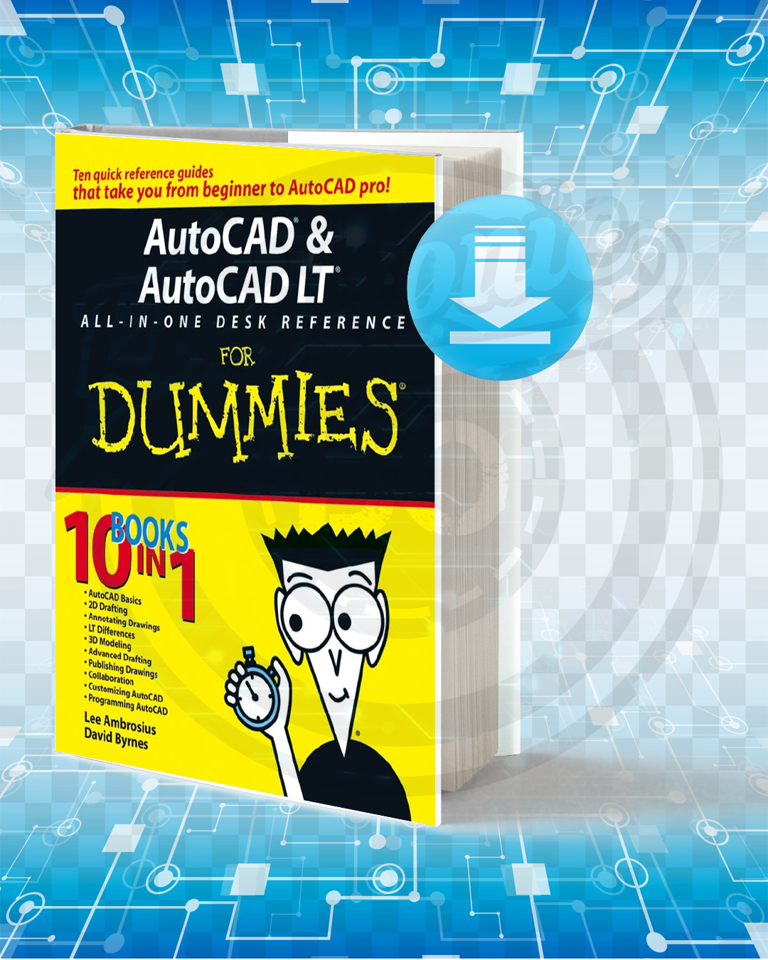 Free Book AutoCAD & AutoCAD LT All-in-One Desk Reference For Dummies pdf.