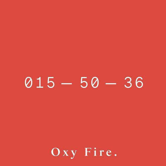Oxy Fire