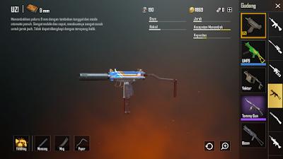 senjata paling mematikan UZI