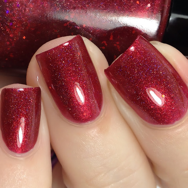 Sassy Pants Polish-Blood Red Moon