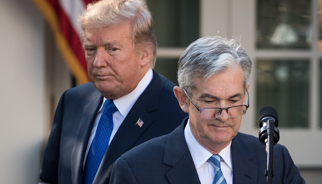 Trump rips Fed rate hikes, but investors expect Fed Chair to stay the course