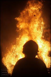 fotografia,fallas,bombero,fuego