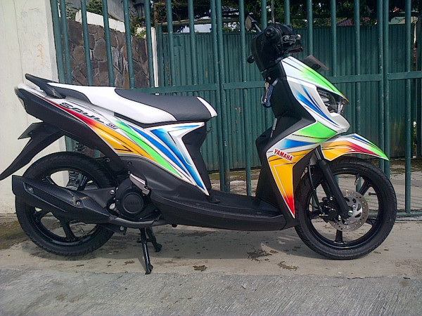 referensi modifikasi motor mio soul gt
