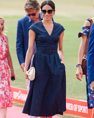 #RoyalFamily; Duke and Duchess of Sussex #MeghanMarkle and #PrinceHarry pack on #PDA as they step out for a day of Polo in Berkshire