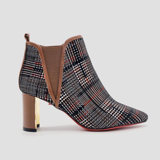Giày boot nữ Aokang bạch kim
