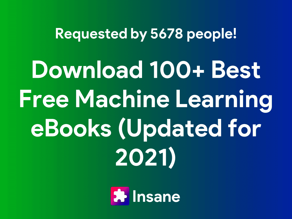 Download PDF for Free - 100+ Best Free Machine Learning Books and Free Artificial Intelligence Books