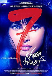 7 Khoon Maaf (2011) Full Movie Download 720p Bluray