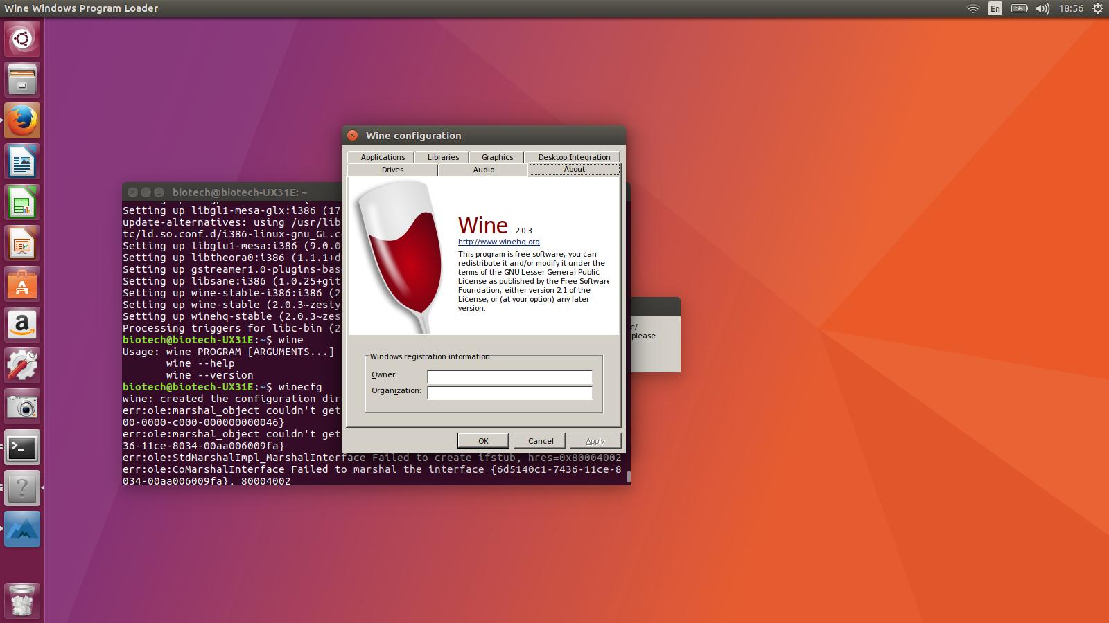 How to install program on Ubuntu: How to Install Wine 2 0 3