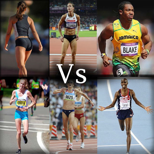 Sprinter vs maratończyk