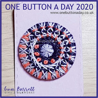 Day 226 : Twilight - One Button a Day 2020 by Gina Barrett