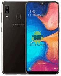 Eng Modem File Samsung A20 SM-A205U Binary U5 Firmware Download