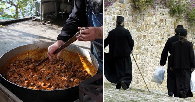 Τι τρώνε οι μοναχοί του Αγίου Όρους – Το μυστικό για μια μακρά και υγιή ζωή