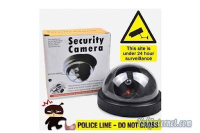 fake cctv camera security