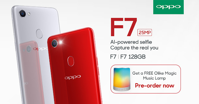 OPPO F7 Pre Order comes with free Olike bluetooth speaker and MORE!