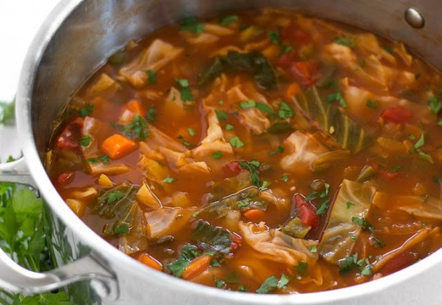 Cabbage Soup #dinner #soup