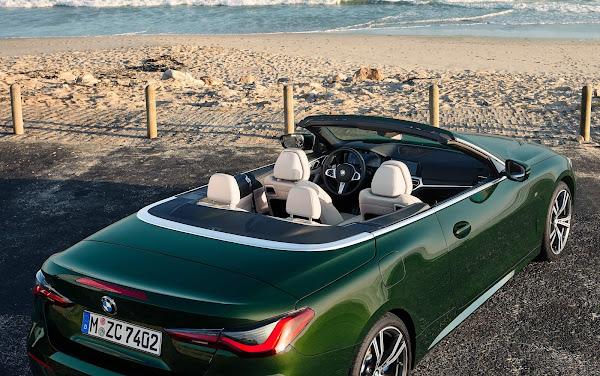 Novo BMW Série 4 2021 ganha versão conversível - fotos