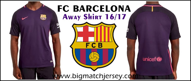 Nike FC Barcelona 2016-17 Away Shirt
