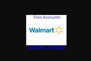 Walmart Accounts Free Hacked + Mail Access Combo List + Credit Card