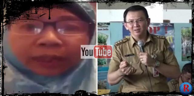Seorang Ibu Sindir Pemerintahan SBY dan membela Ahok, viral di YouTube