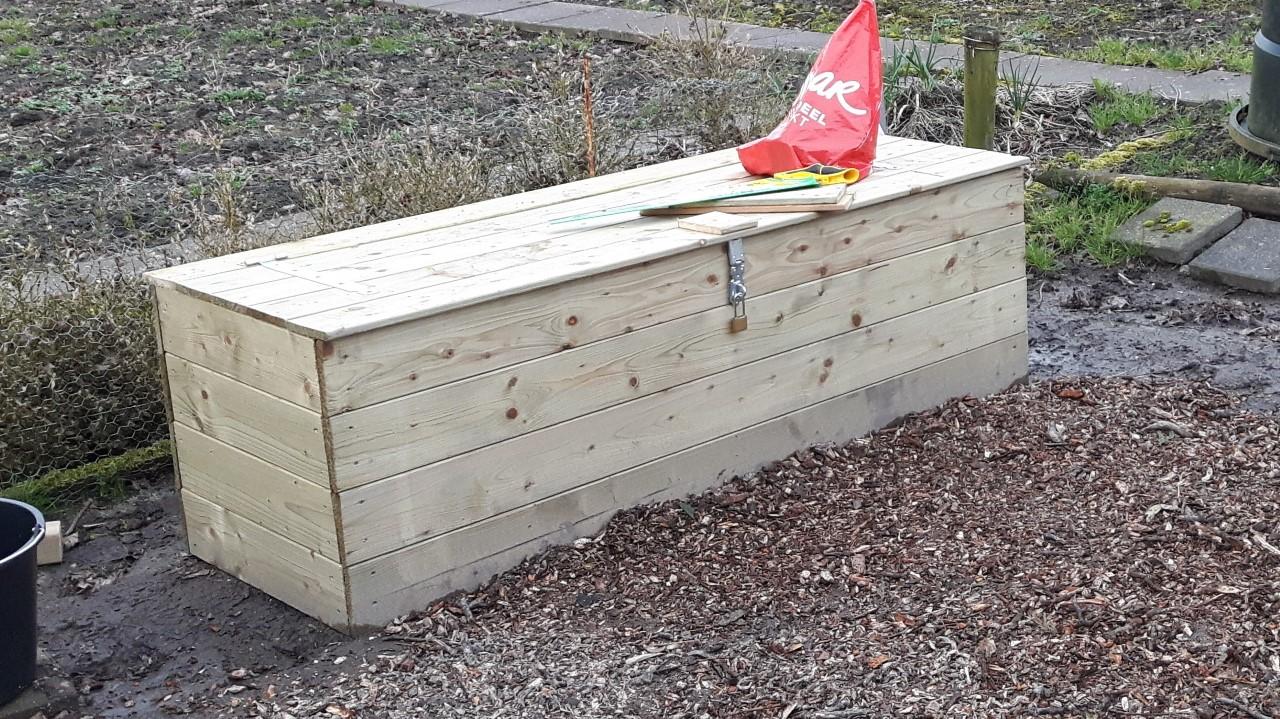 tuinkist waterdicht moestuin gereedschap zelf maken tuin