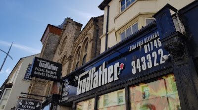 The Godfather takeaway in Rhyl
