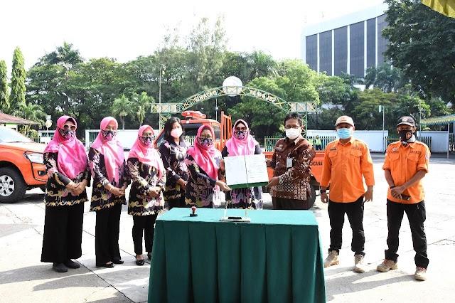 Ikatan Istri Pimpinan BUMN Salurkan Bantuan untuk Korban Gempa Malang
